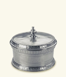 Round Engraved Box