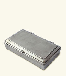Rectangle Lidded Box without Leather No Divider