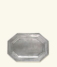 Octagonal Tray For Tureen