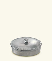 Oval Lidded Box