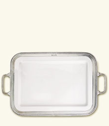 Luisa Rectangle Platter Large w/Handles