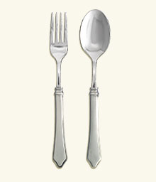 Violetta Serving Fork & Spoon