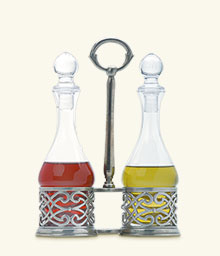 Cutwork Oil & Vinegar Set