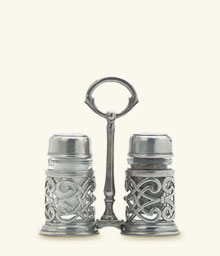 Cutwork Salt & Pepper Caddy