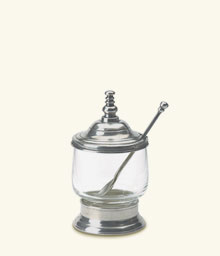 Condiment Jar with Spoon