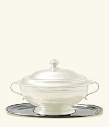 Oval Tray For Tureen