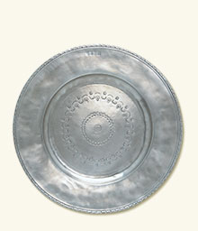 Engraved Round Platter, Large