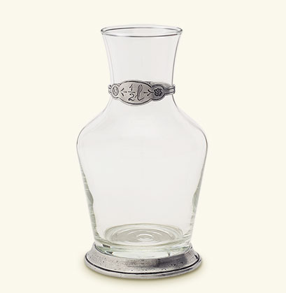 Glass Carafe, 1/2 Litre