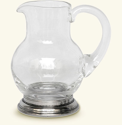 Glass Pitcher, 1/4 Litre