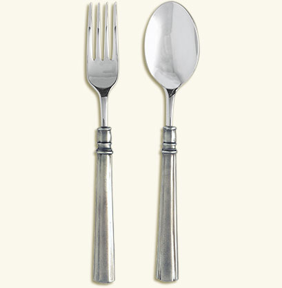 Lucia Serving Fork & Spoon