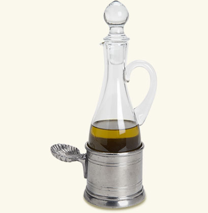 Oil Cruet with Shell Handle