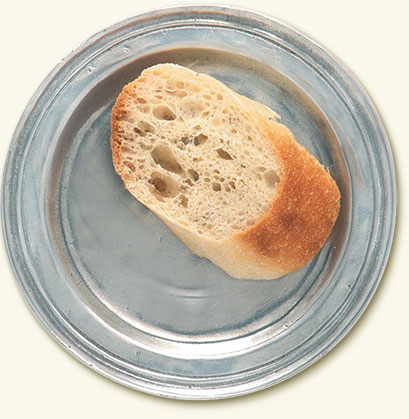 Narrow Rim Bread Plate
