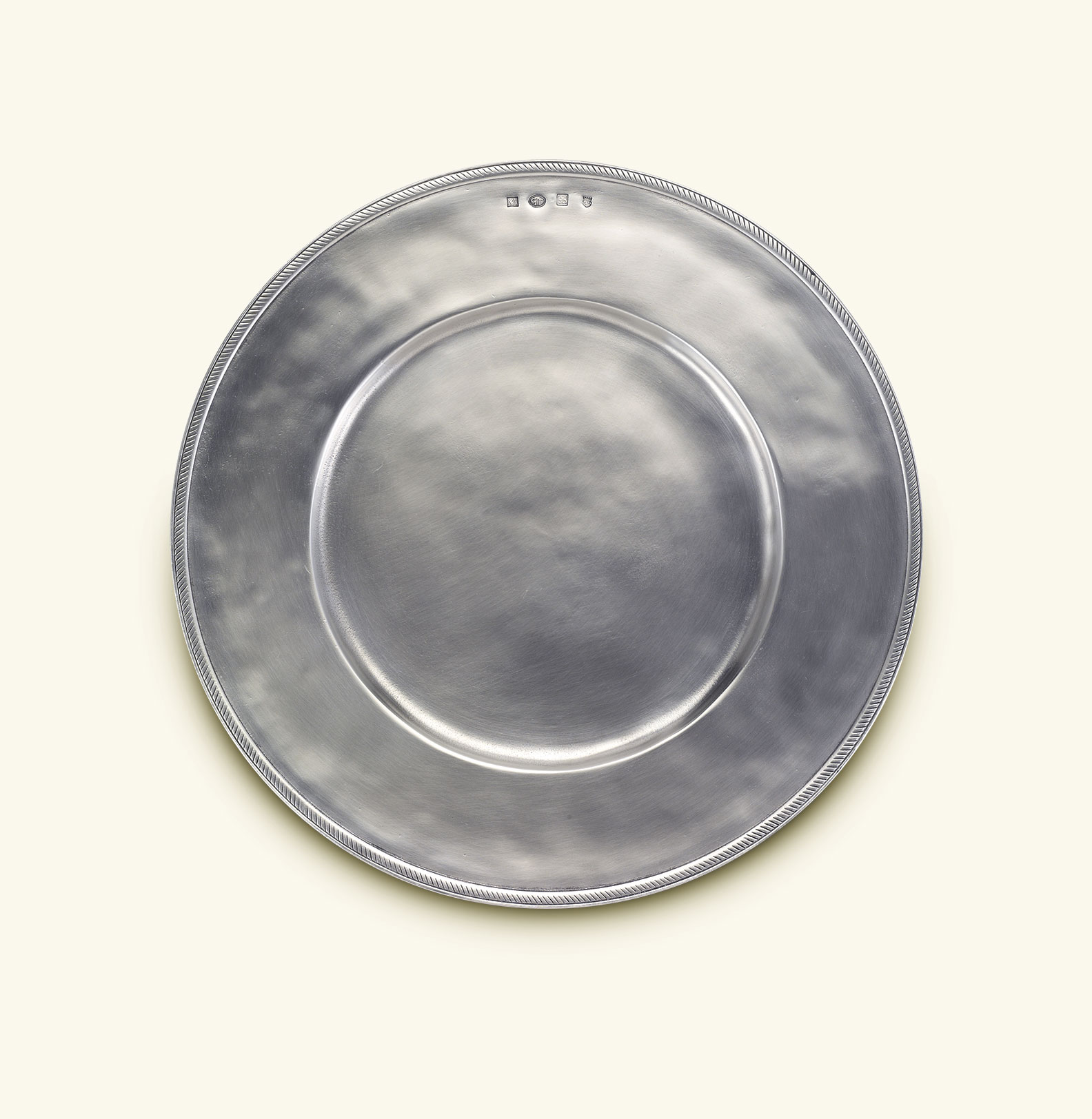 Luisa Charger & MATCH Pewter: Exclusive Pewter Dinnerware